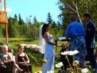 One of our Many wedding ceremonies